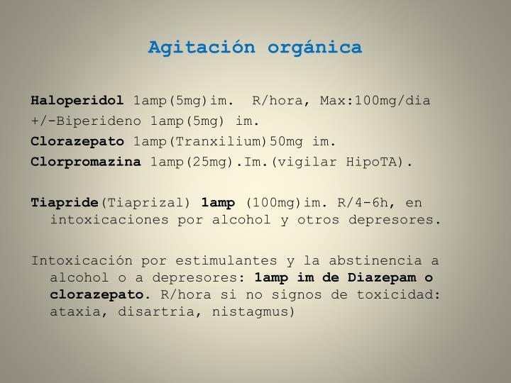 Agitación orgánica