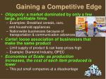 gaining a competitive edge1