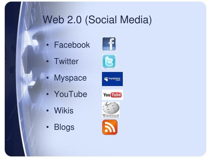 Web 2.0 (Social Media)