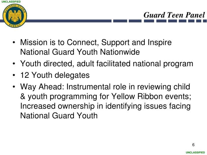 Guard Teen Panel