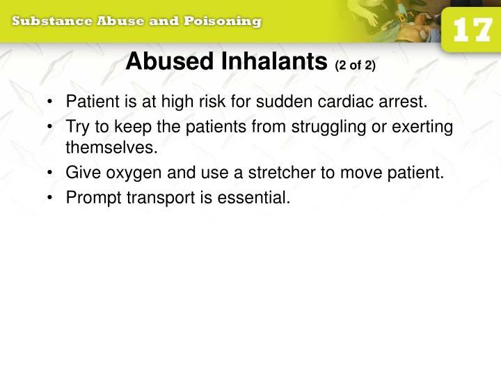 Abused Inhalants