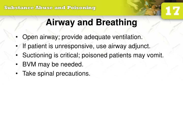 Airway and Breathing