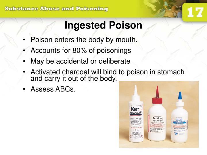 Ingested Poison