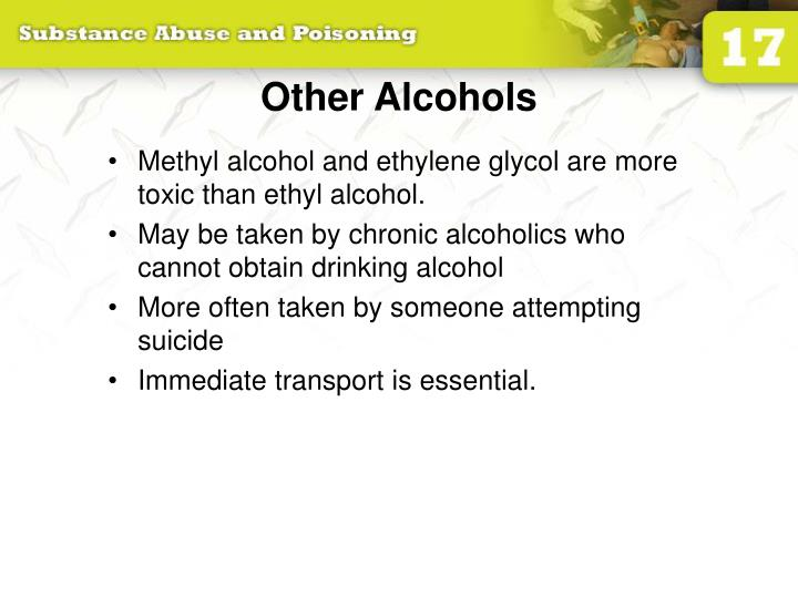 Other Alcohols