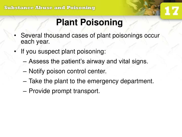 Plant Poisoning
