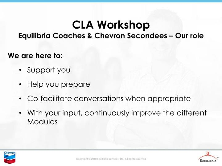 CLA Workshop