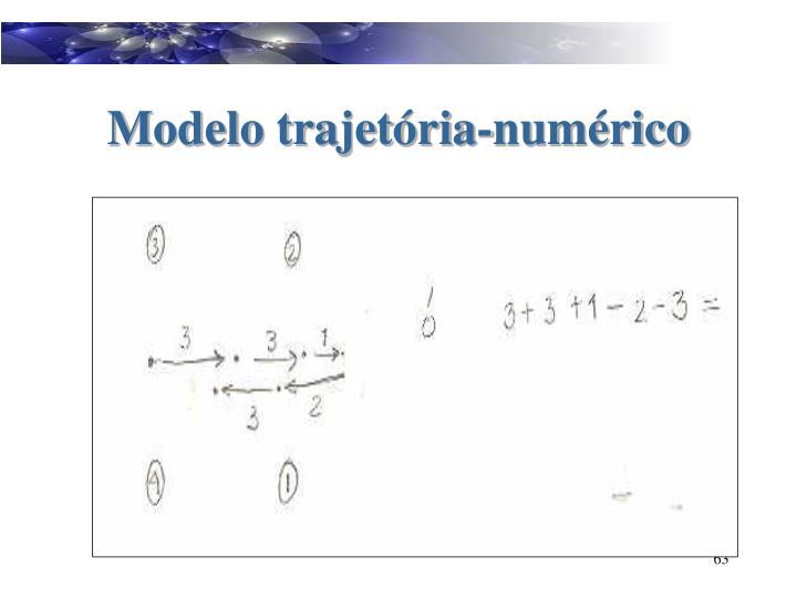 Modelo trajetória-numérico