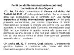 fonti del diritto internazionale continua la nozione di jus cogens1