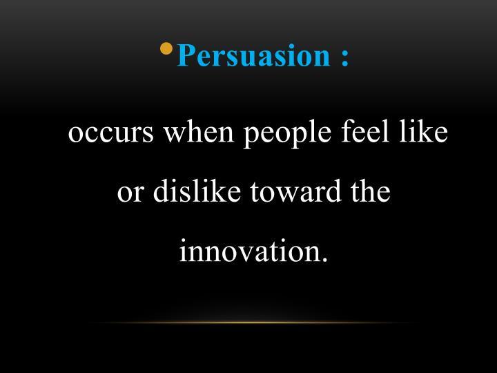 Persuasion :