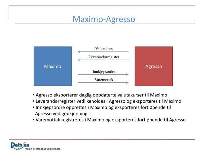 Maximo-Agresso