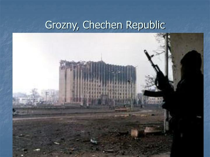 Grozny, Chechen Republic