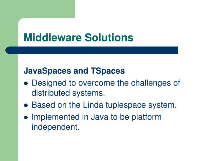 Middleware Solutions