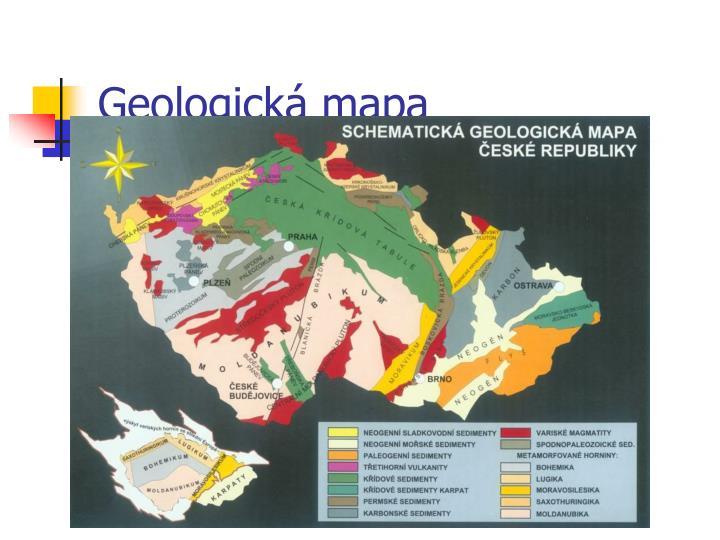 Geologická mapa