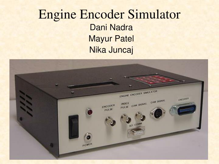 Engine Encoder Simulator