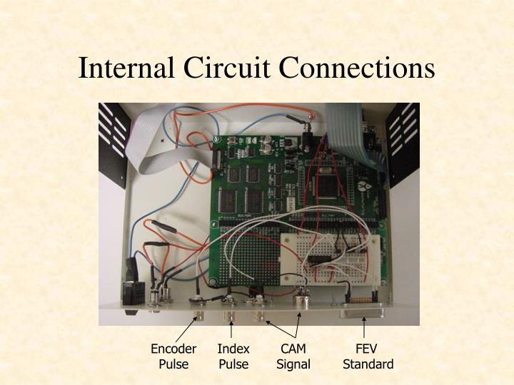 Internal Circuit Connections