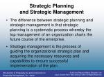 strategic planning and strategic management2