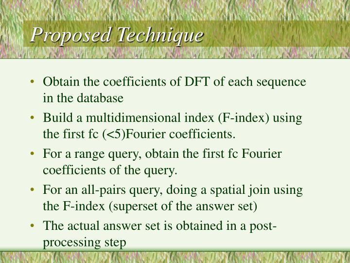 Proposed Technique