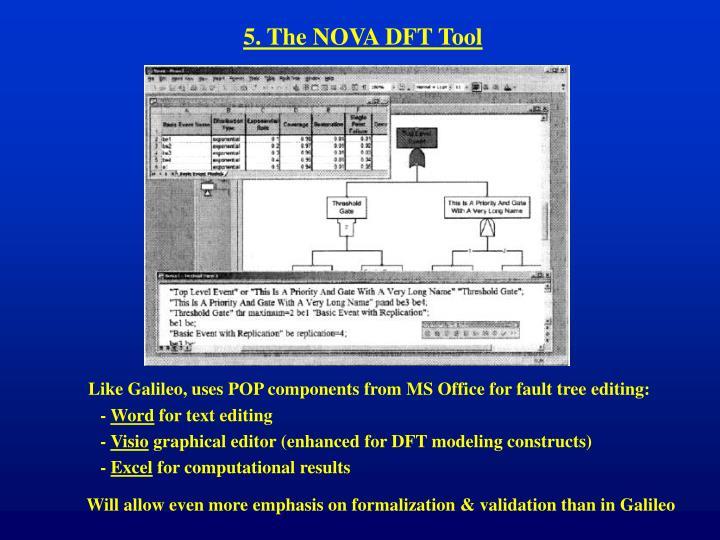 5. The NOVA DFT Tool