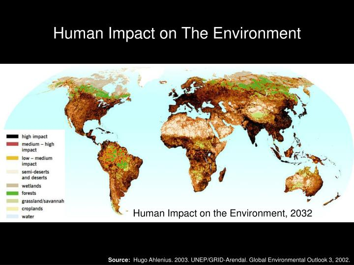 Human Impact on the Environment, 1700