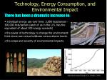 technology energy consumption and environmental impact