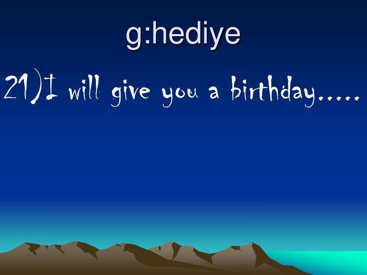 g:hediye