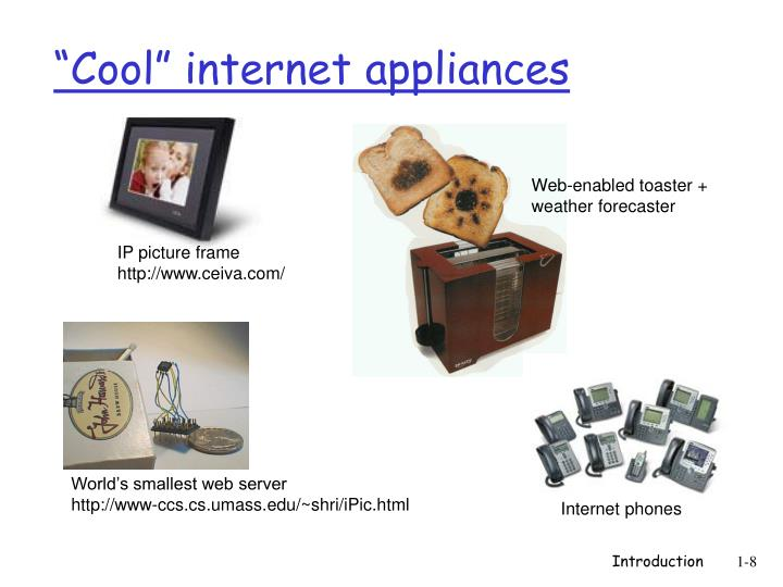 """Cool"" internet appliances"