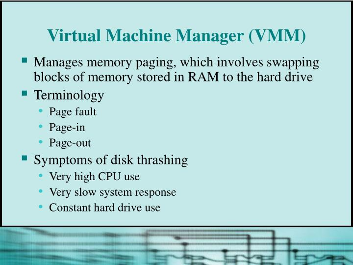 Virtual Machine Manager (VMM)