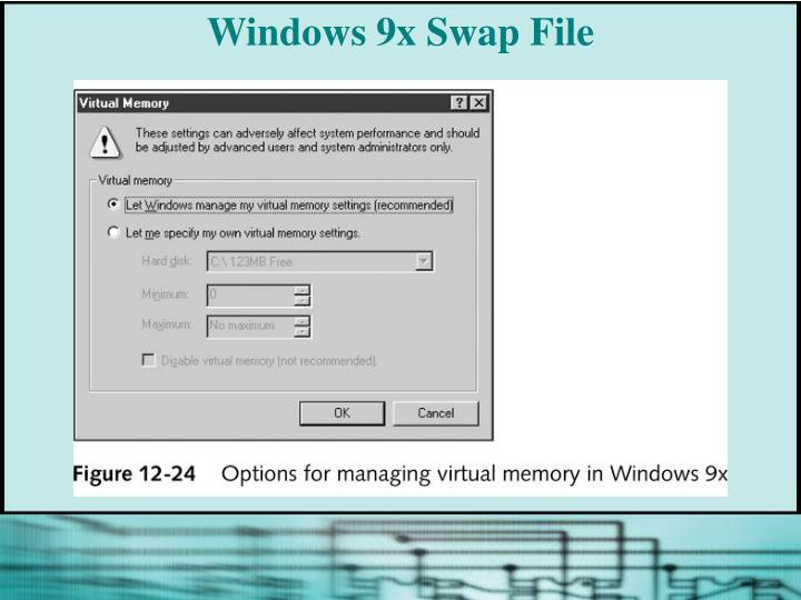 Windows 9x Swap File