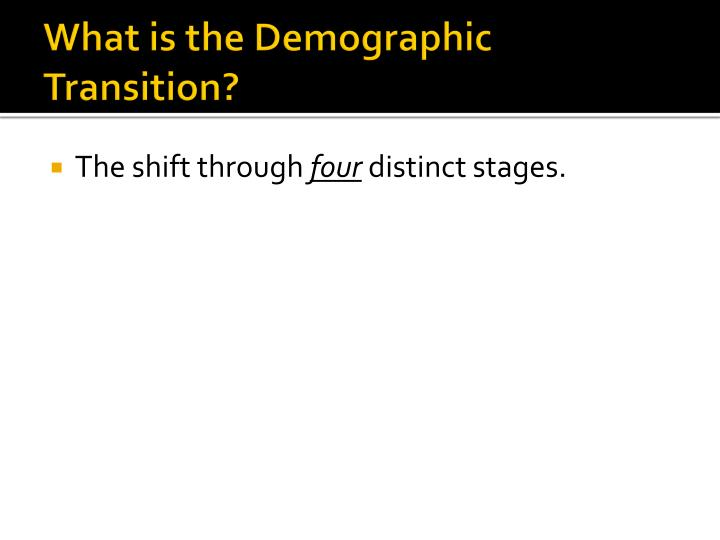 Demographic essay topics