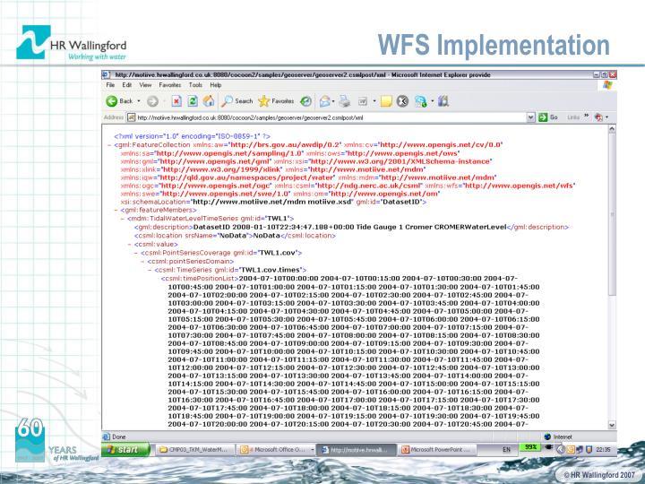 WFS Implementation