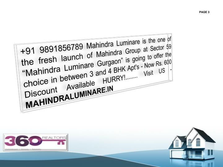 +91 9891856789 Mahindra