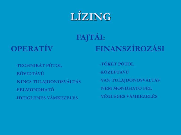 LÍZING