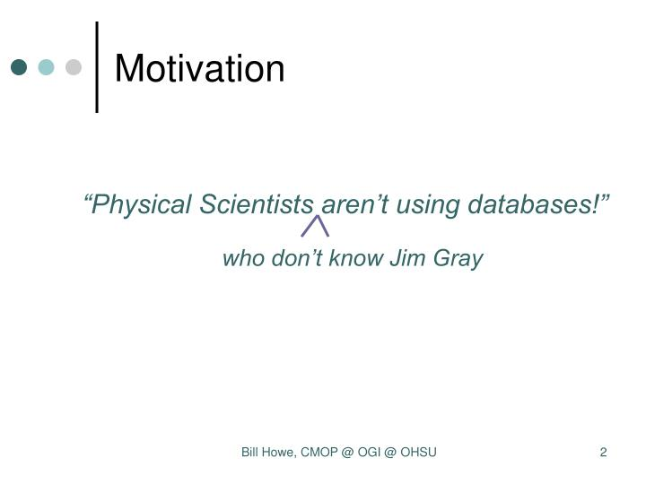 who don't know Jim Gray