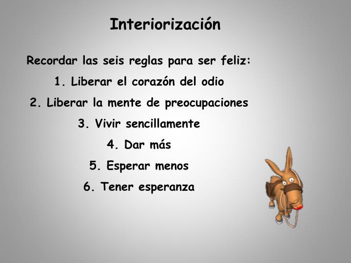 Interiorización