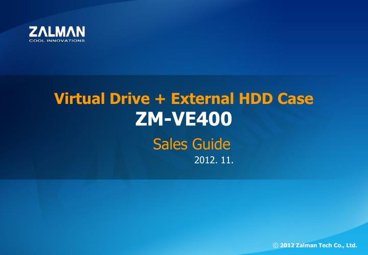Virtual Drive + External HDD Case