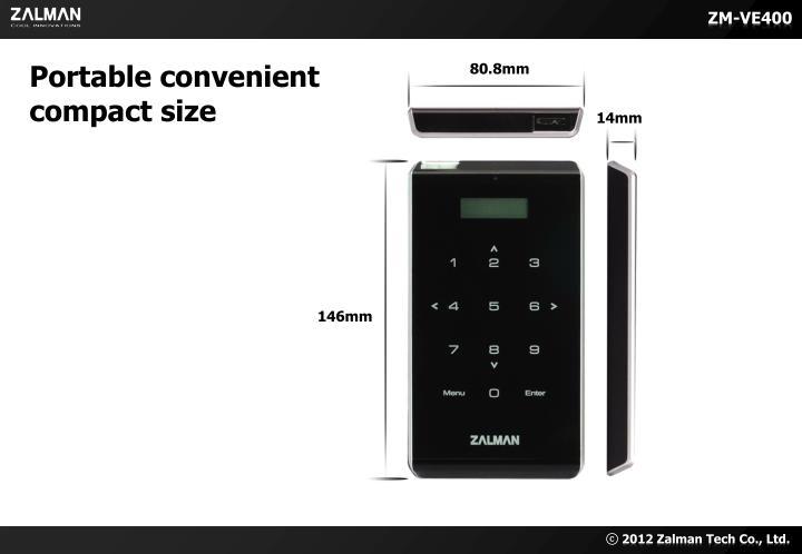Portable convenient