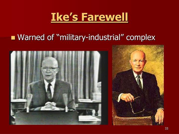 Ike's Farewell