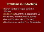 problems in indochina1