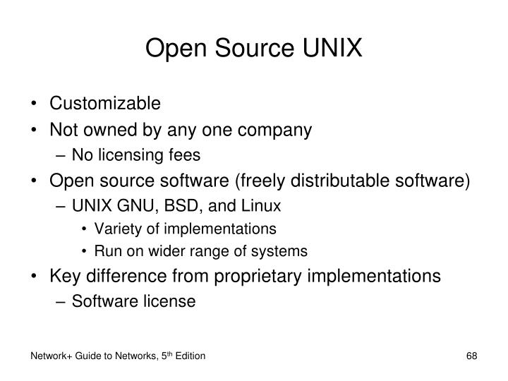 Open Source UNIX