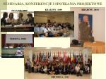 seminaria konferencje i spotkania projektowe