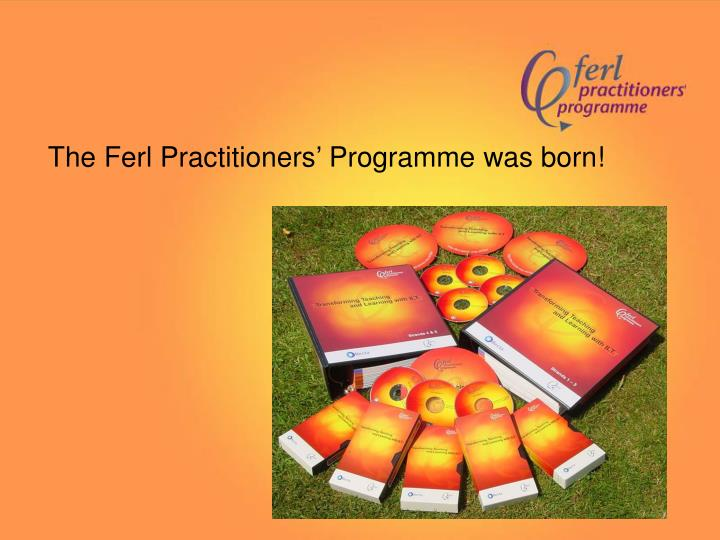 The Ferl Practitioners' Programme was born!