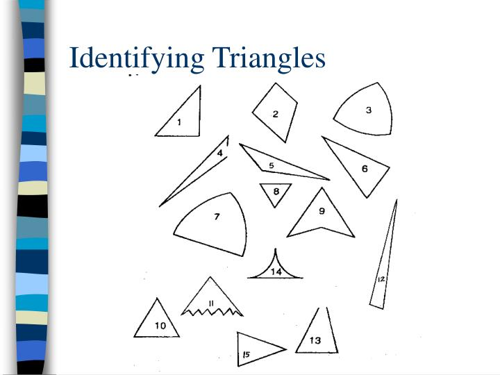 Identifying Triangles