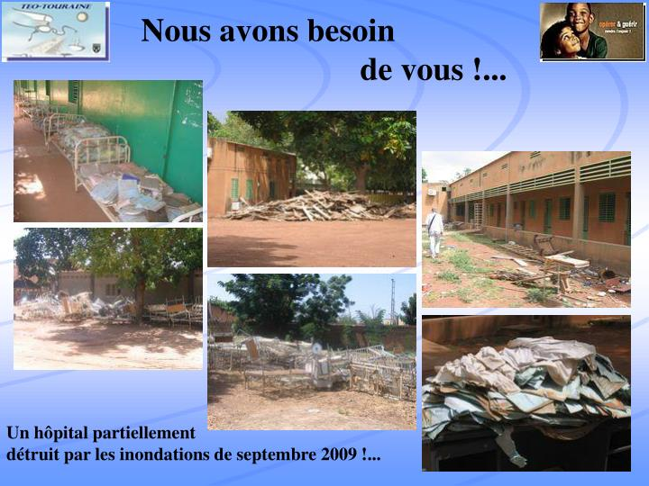 Nous avons besoin