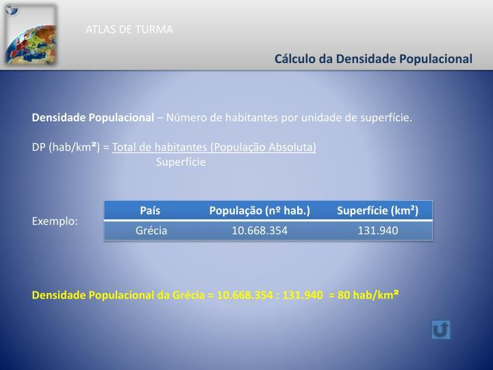 ATLAS DE TURMA