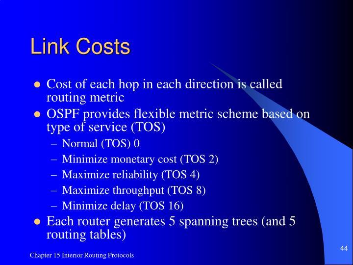 Link Costs
