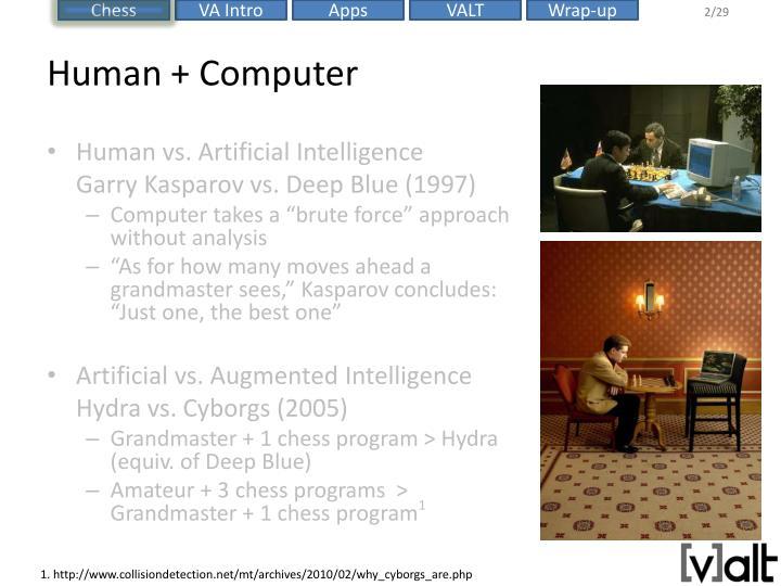Human + Computer