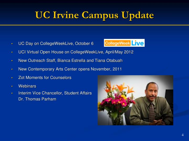 UC Irvine Campus Update