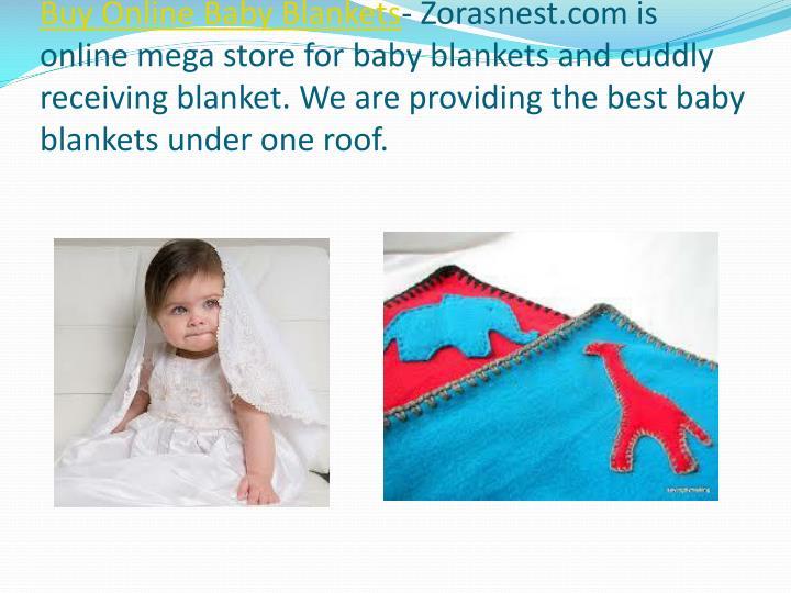 Buy Online Baby Blankets