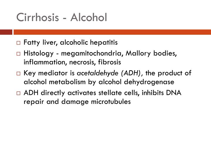 Cirrhosis - Alcohol
