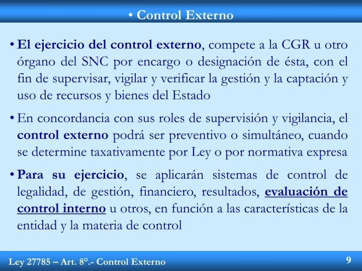 Control Externo